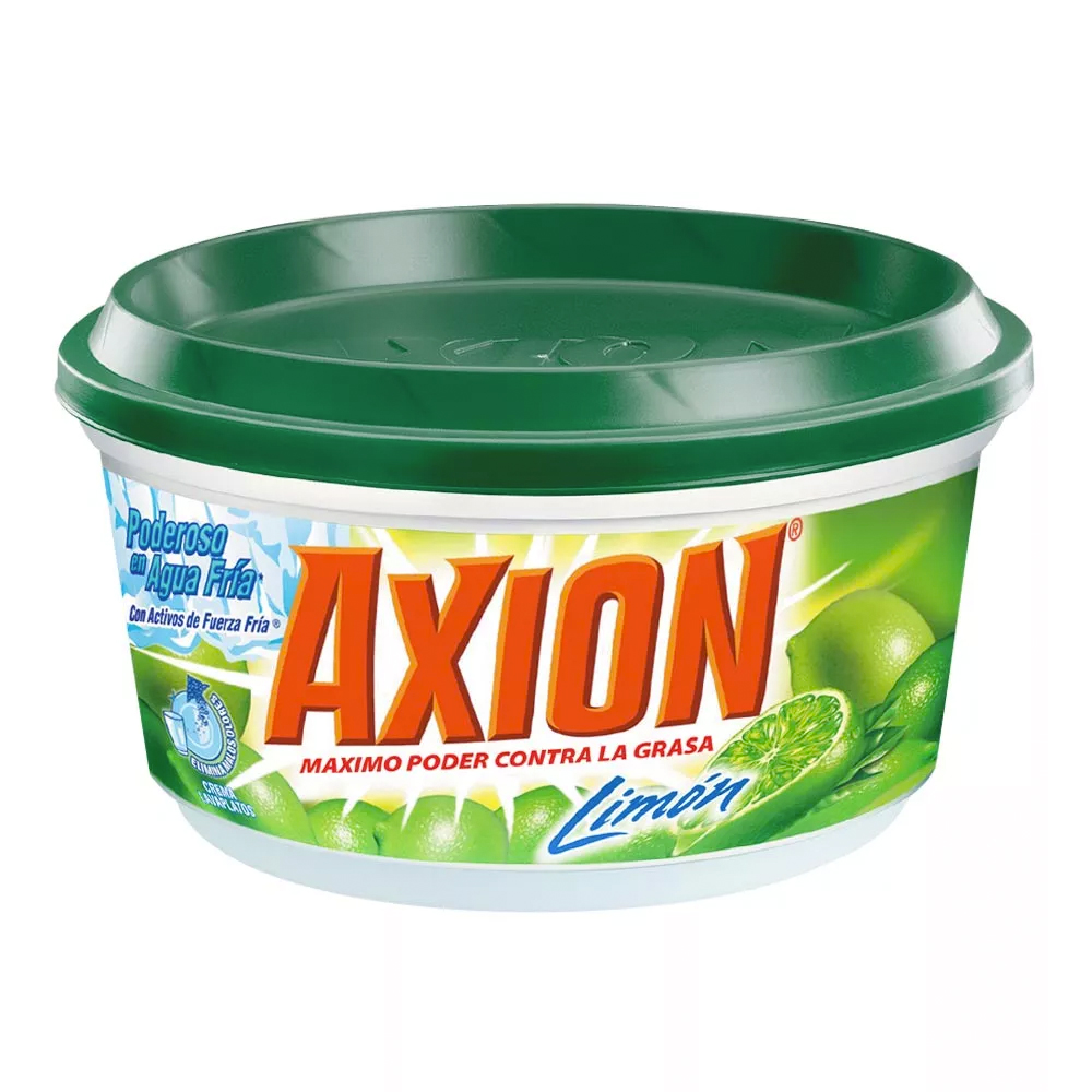 LAVAPLATOS CREMA AXION LIMON X 235 GRS